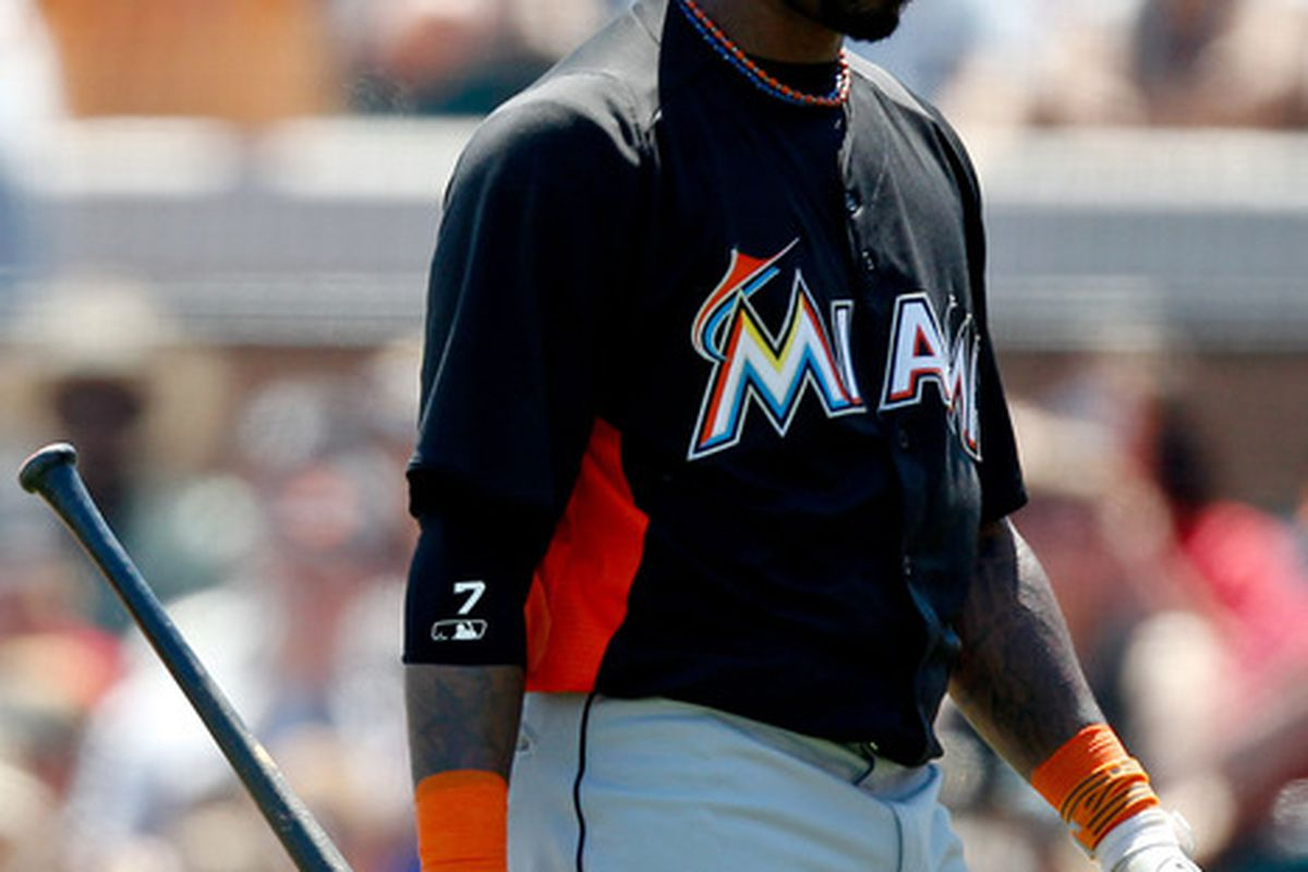 If you'd like to avoid being as sad as Jose Reyes is here, you had best play Ichthyomancy! Mandatory Credit: Derick E. Hingle-US PRESSWIRE