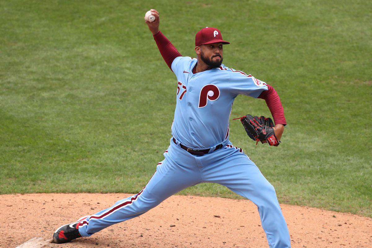 MLB: AUG 09 Braves at Phillies