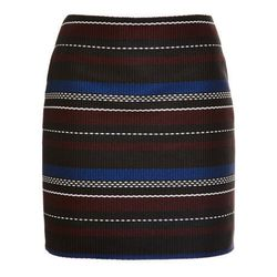 """Suno woven mini skirt, <a href=""""http://www.openingceremony.us/products.asp?menuid=2&menuid2=209&designerid=293&productid=109089&sproductid=109090"""">$179</a> (was $595) at Opening Ceremony"""
