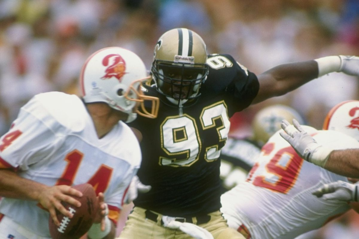 4238f28e Countdown to New Orleans Saints kickoff: A History of No. 93 - Canal ...