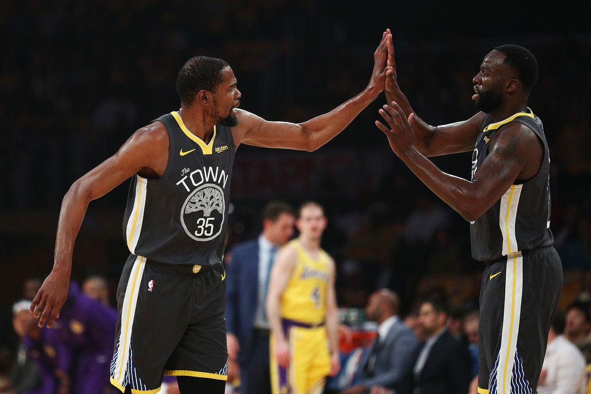 cheap for discount 0ec1c 1c469 Final Score: Warriors crush spiraling Lakers in Staples ...