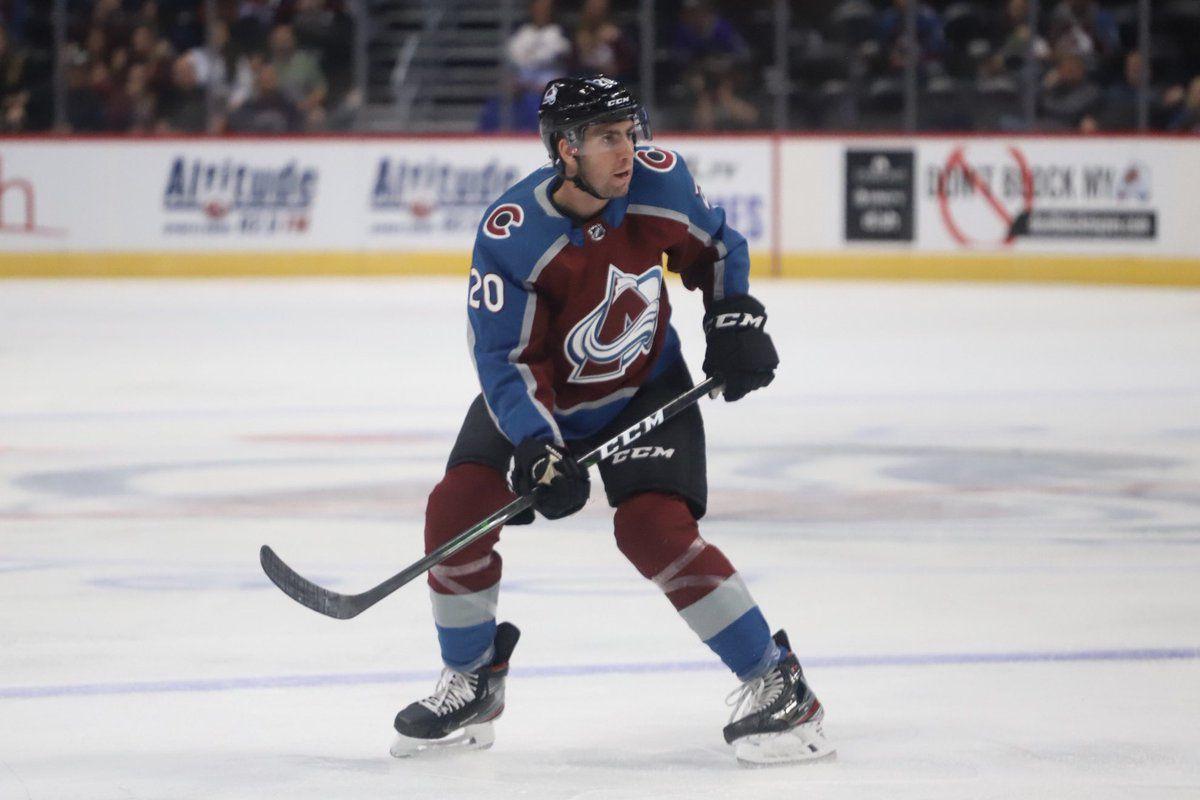 Conor Timmins in NHL debut for Colorado Avalanche