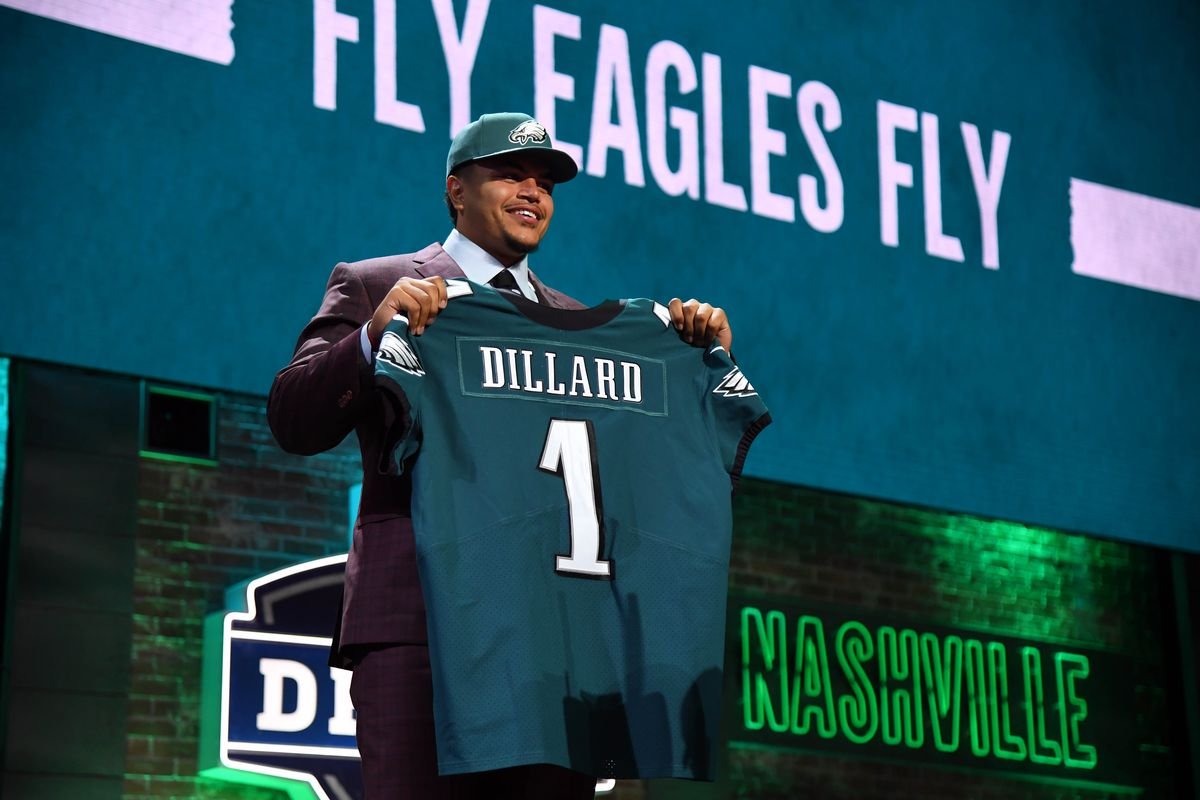 f233d6f7da3 Andre Dillard sure enjoyed his night at the NFL Draft - CougCenter