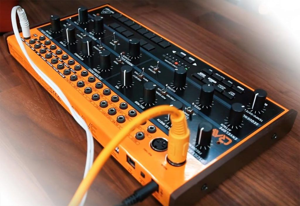 5 of our favorite synths from namm 2019 the verge. Black Bedroom Furniture Sets. Home Design Ideas