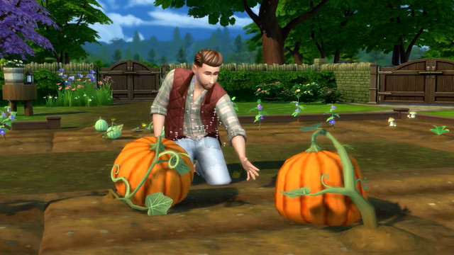The Sims 4's Cottage Living pack adds Farms
