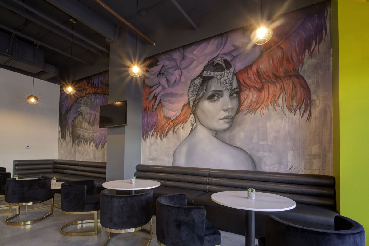 The mural at CraftHaus