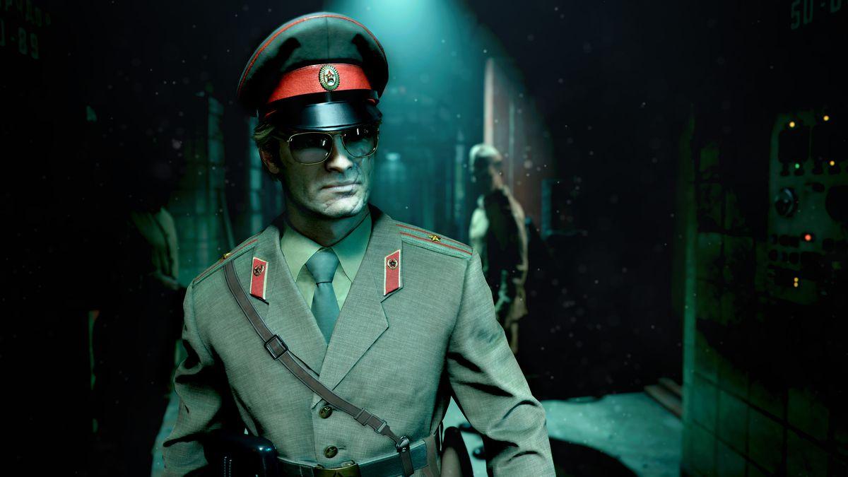 A KGB operative in Black Ops Cold War