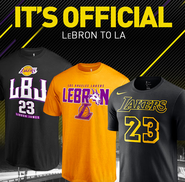 finest selection d70db 53262 The NBA had to stop selling LeBron James jerseys because he ...
