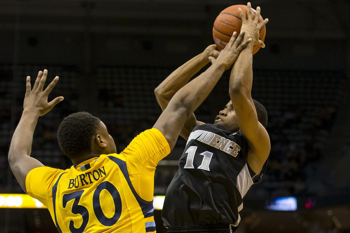 Bryce Cotton was hounded all night by a bevy of Marquette defenders and struggled throughout.