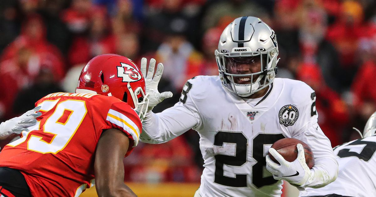 Raiders-Titans inactives: Josh Jacobs and Trent Brown both OUT against Titans