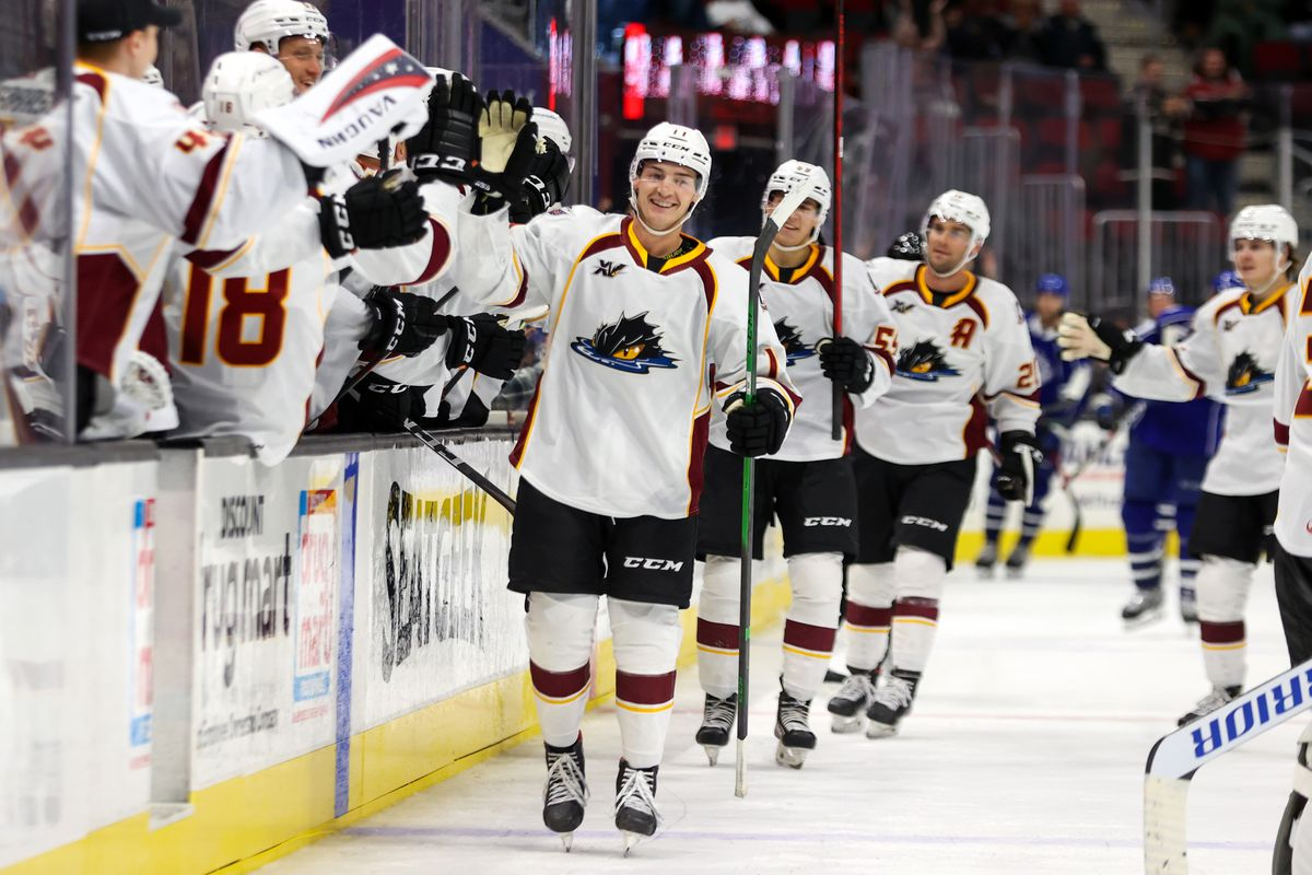 AHL: OCT 16 Syracuse Crunch at Cleveland Monsters