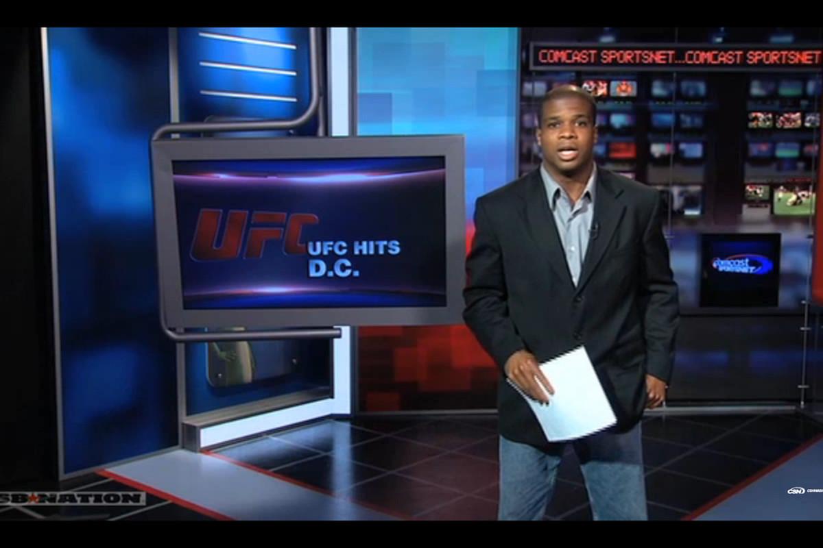 Dustin Green UFC in DC