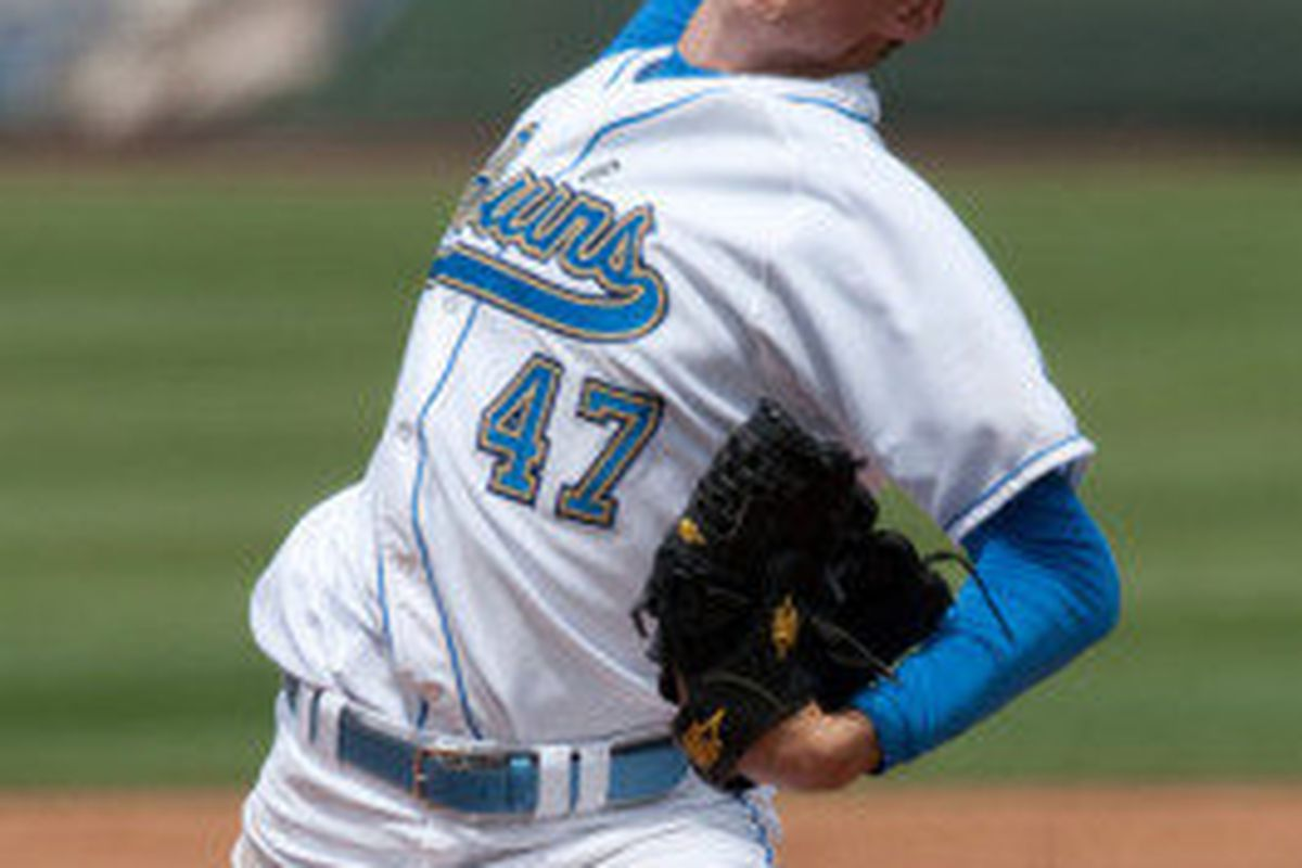 Trevor Bauer was dominant as he became UCLA's all-time wins leader (Photo Credit: Official Site)