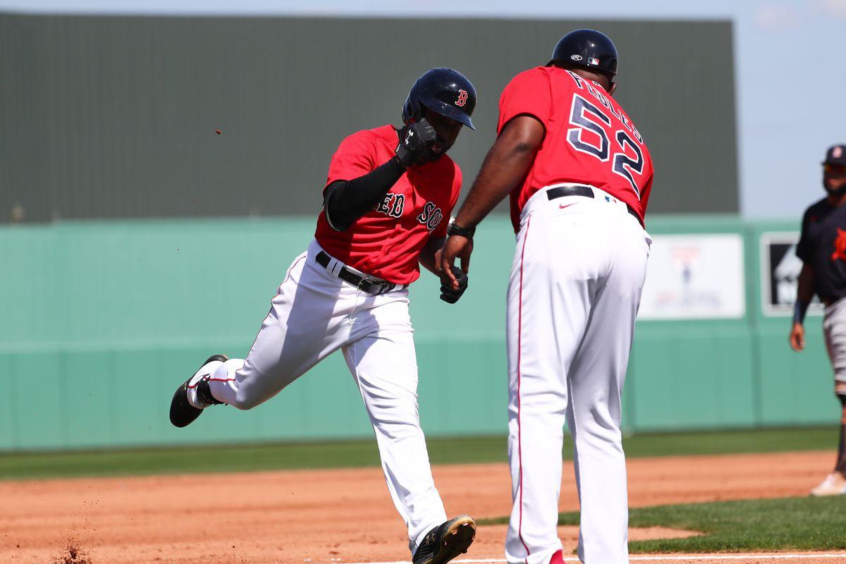 MLB: Spring Training-Detroit Tigers at Boston Red Sox