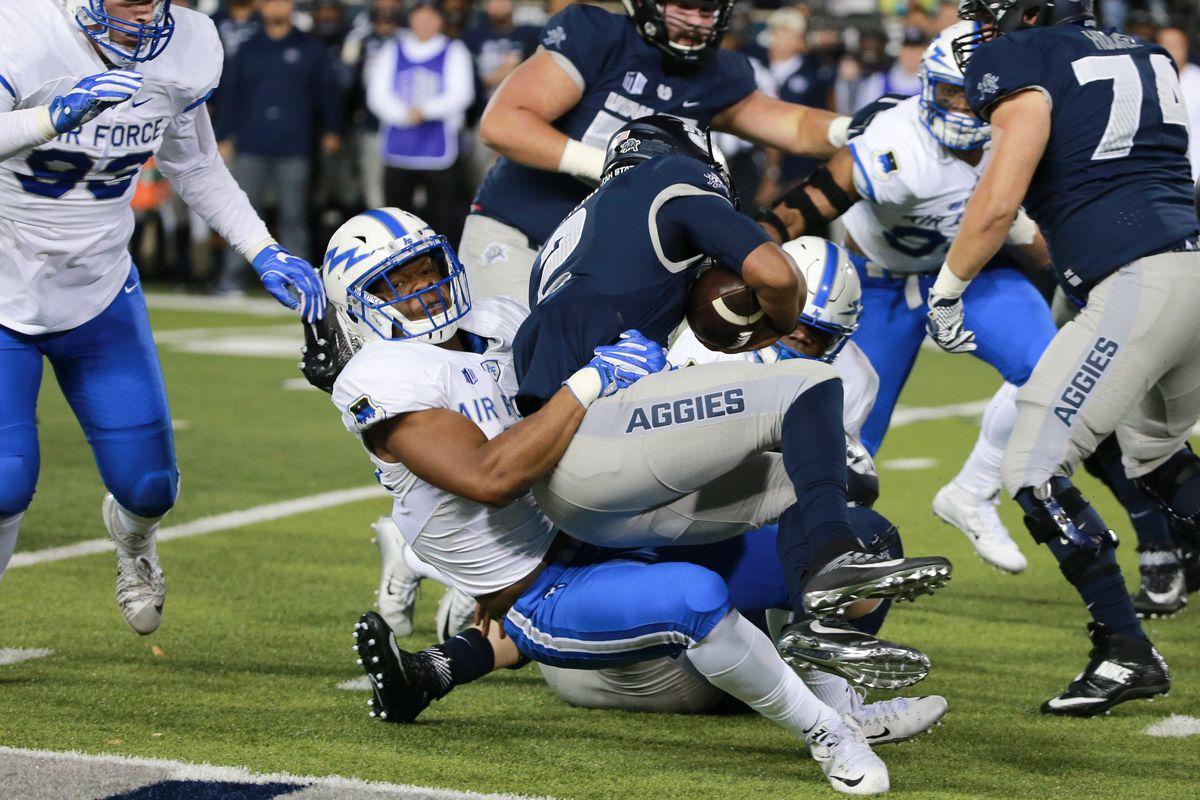 NCAA Football: Air Force at Utah State