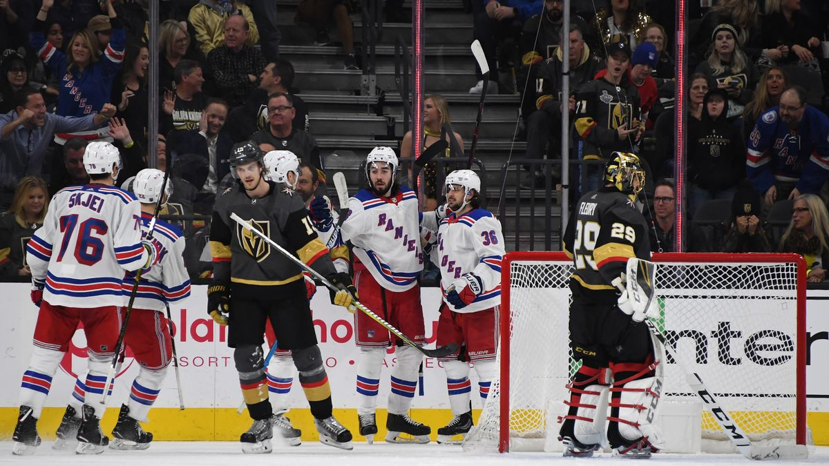 New York Rangers v Vegas Golden Knights