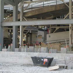 11:17 a.m. Another view of the Waveland Ave side of the main bleacher gate -