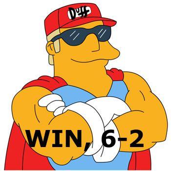 WIN, 6-2