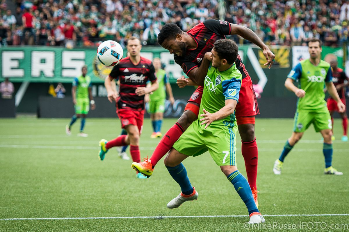 Seattle Sounders vs. Portland Timbers: Photos