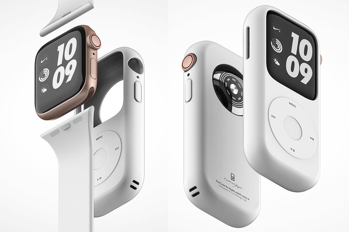... because your emotions trick you into thinking you want something that  has absolutely no functional value. This Apple Watch iPod nano concept, ...