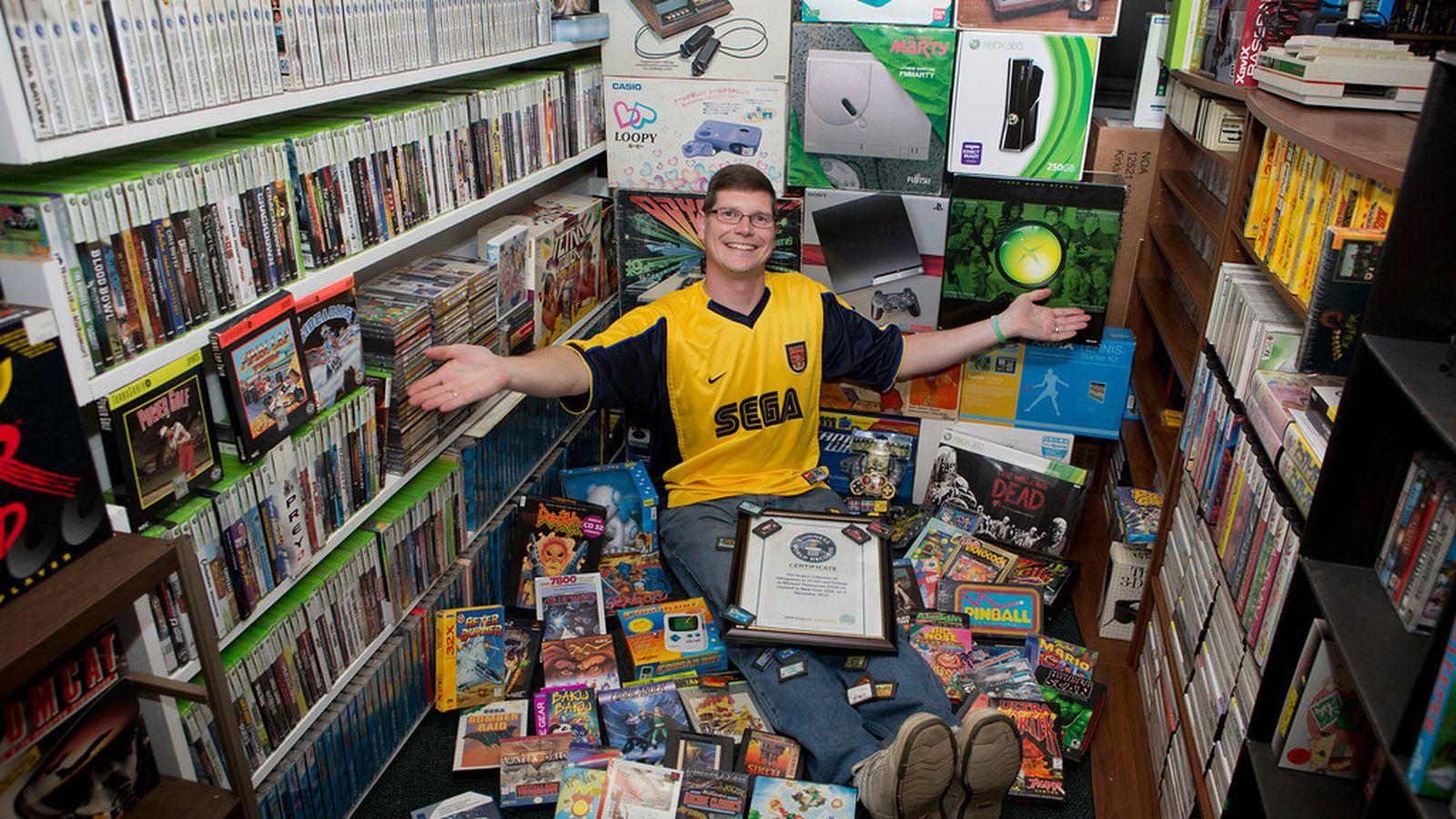 Самая большая коллекция игр на пк
