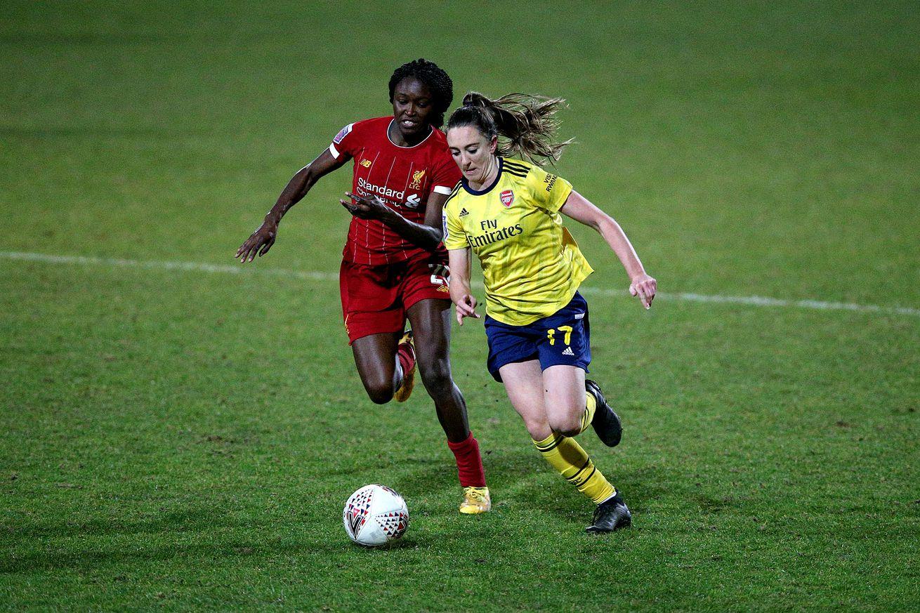 Liverpool v Arsenal - FA Women's Super League - Lookers Vauxhall Stadium