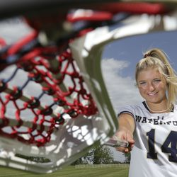 Ms. Lacrosse Jaimeson Meyer poses for a portrait at Waterford School in Sandy on Thursday, June 10, 2021.