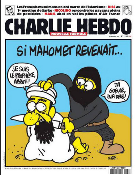 Charlie Hebdo Mohammed Returns