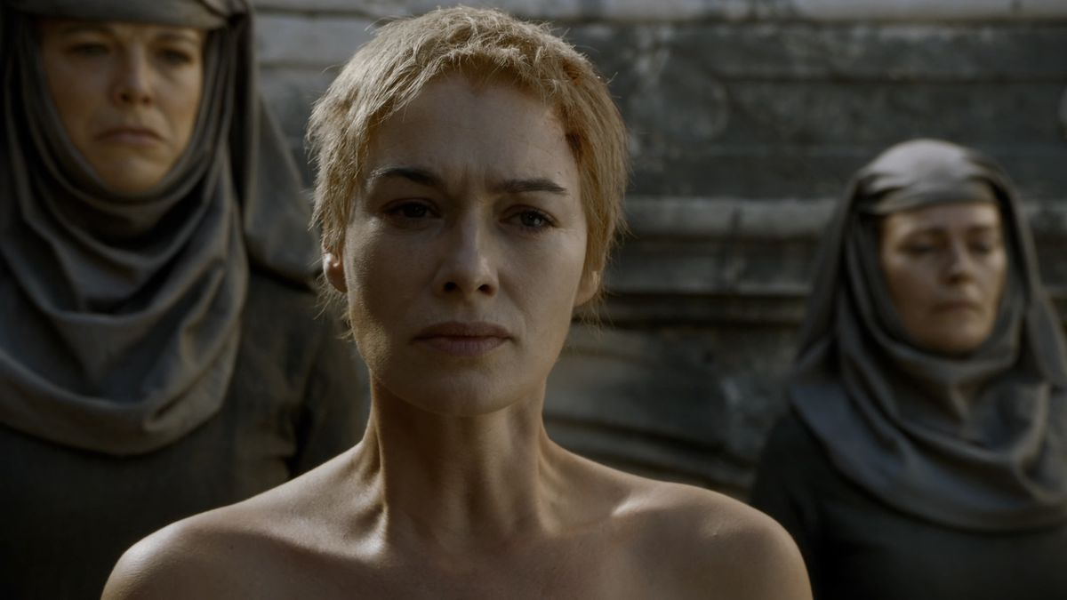 Game of Thrones Mother's Mercy Cersei walk of shame