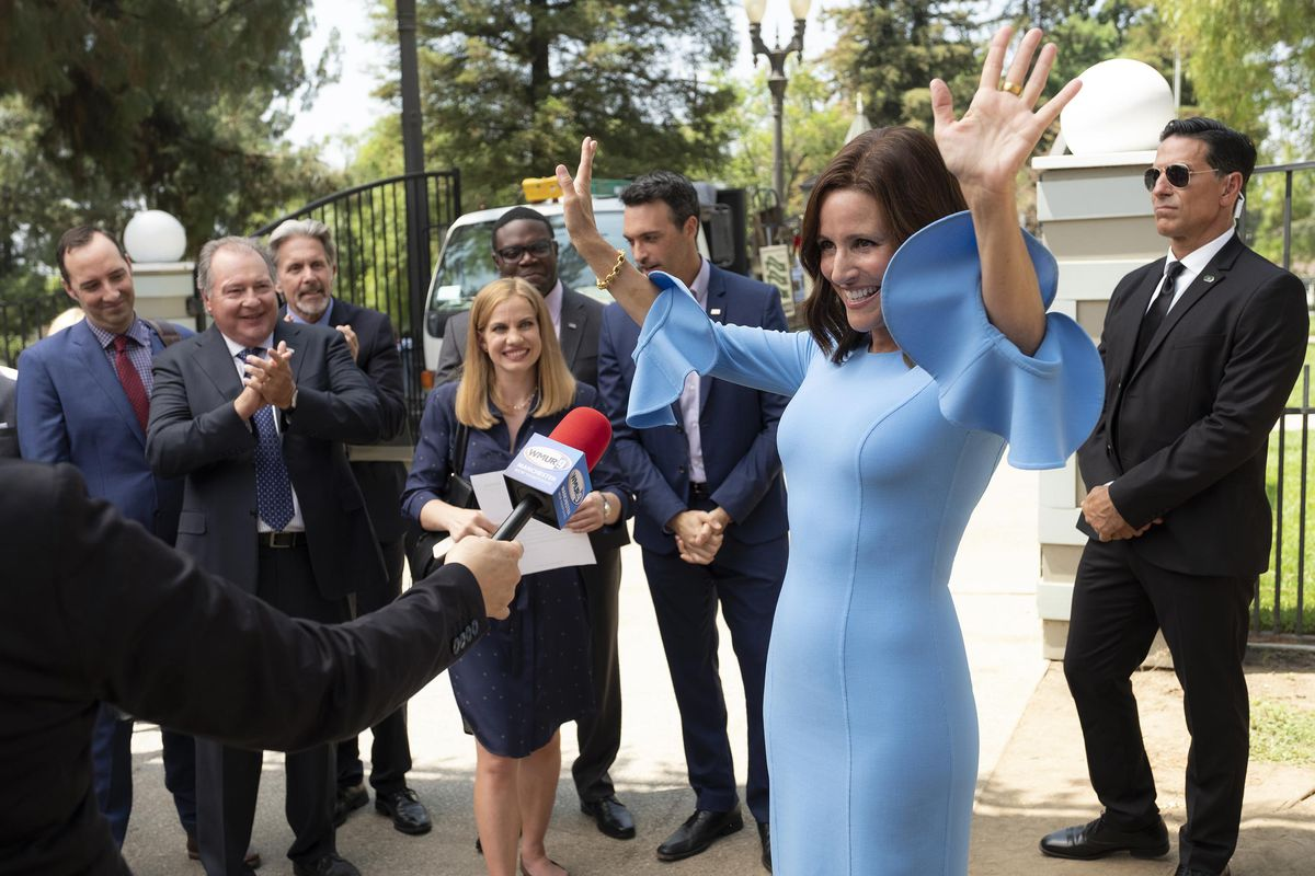 The gang is fully back for the last season in Veep - and Selina's fourth run at the president.