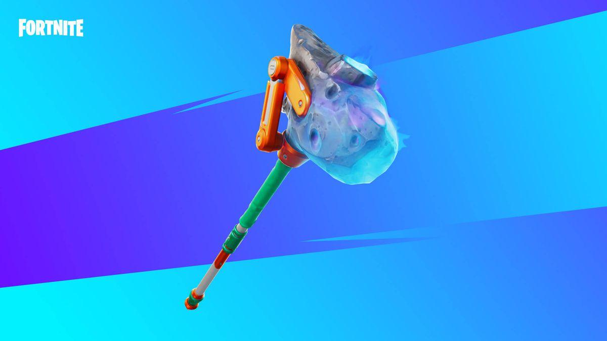 Fortnite's new Shooting Starstaff Pickaxe