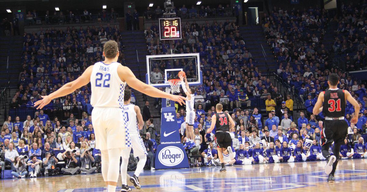 Kentucky Basketball Highlights And Box Score From Historic: Kentucky Wildcats: Highlights, Recap, Box Score Ad Game