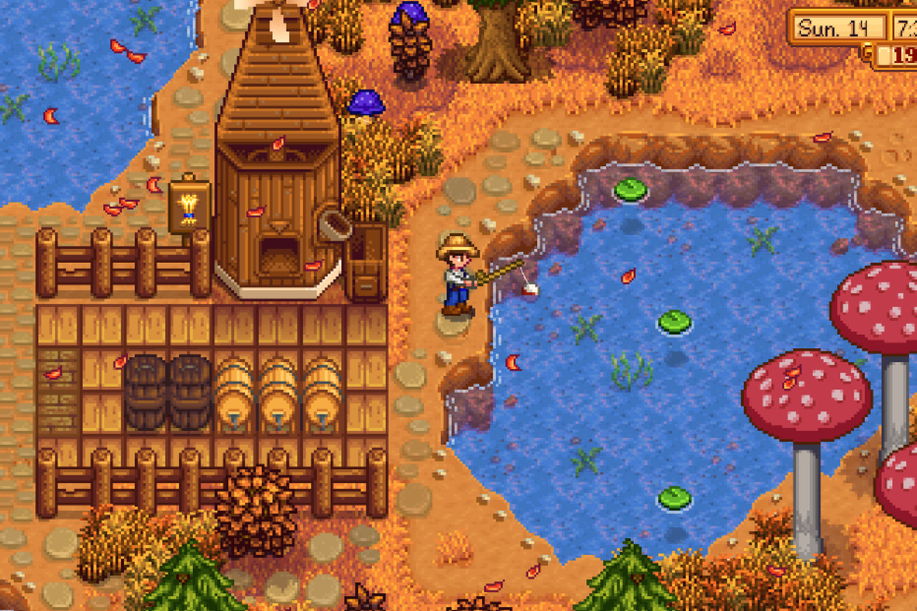 peaceful farming sim stardew valley is coming to the iphone