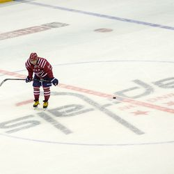 Ovechkin At Center During Stop