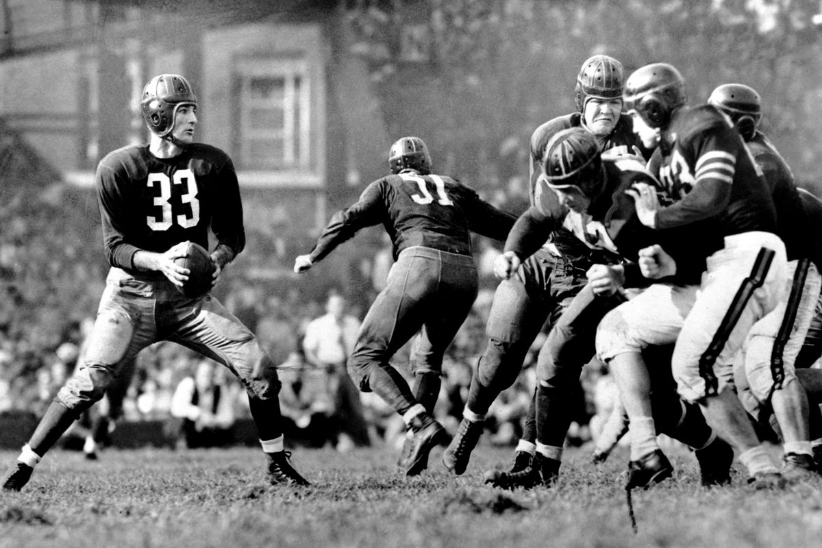 c219279d Redskins by the (Jersey) Numbers: #33 - Sammy Baugh - Hogs Haven