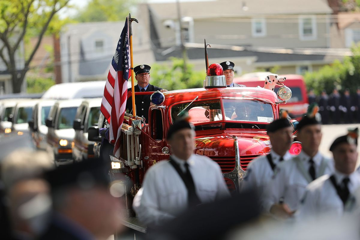 Funeral Held For NYC Firefighter Ray Pfeifer Who Died Of 9/11 Related Cancer