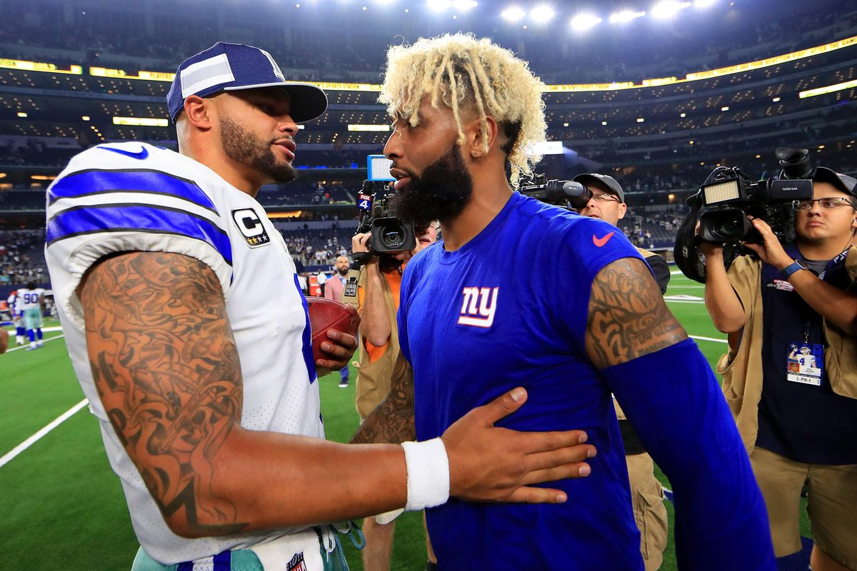 finest selection f0586 a4683 Cowboys were reportedly on Odell Beckham Jr.'s list of ...