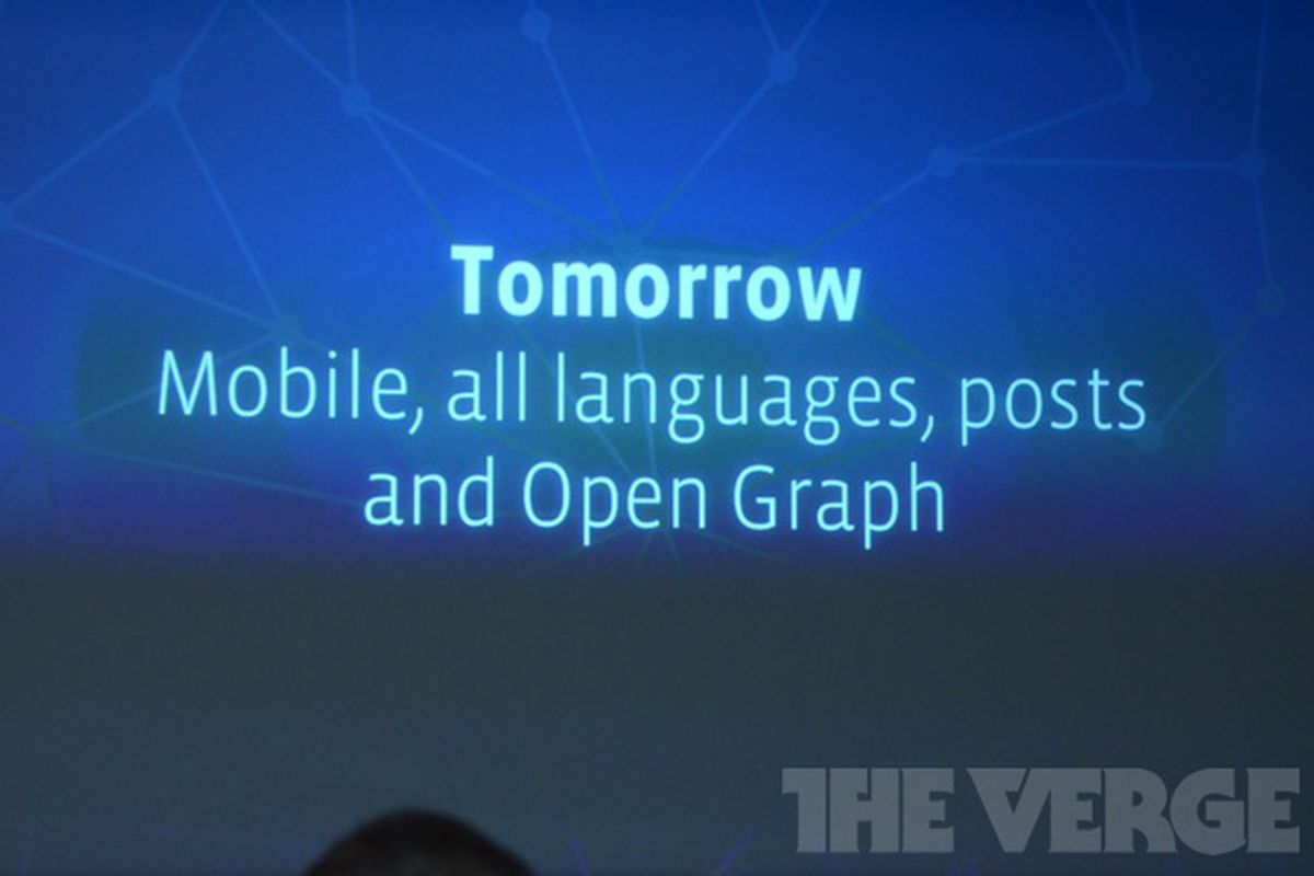 Facebook Mobile Graph Search launch