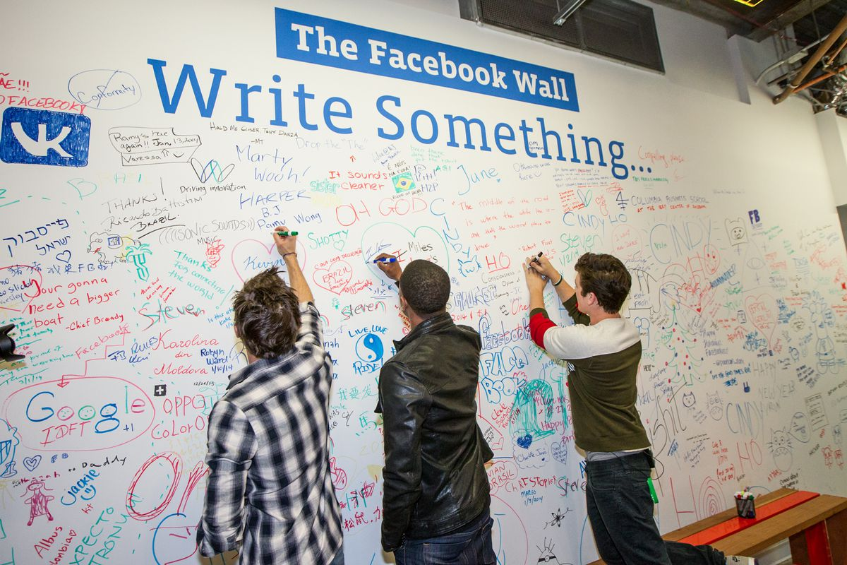 """Facebook has an actual """"Facebook wall"""" — and Mark Zuckerberg is pretty tired of people writing """"all lives matter"""" on it."""