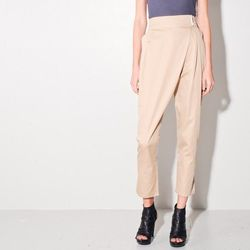 """For Kristen Wiig: Kai-Aakmann <a href=""""http://www.oaknyc.com/fold-over-pant.html"""">fold-over pant</a>, $46.20 at Oak's 30/40/50 sale. Don't be fooled by her kooky SNL characters; this girl's got style. These Kai-Aakmann pants are the comfy casual equivalen"""