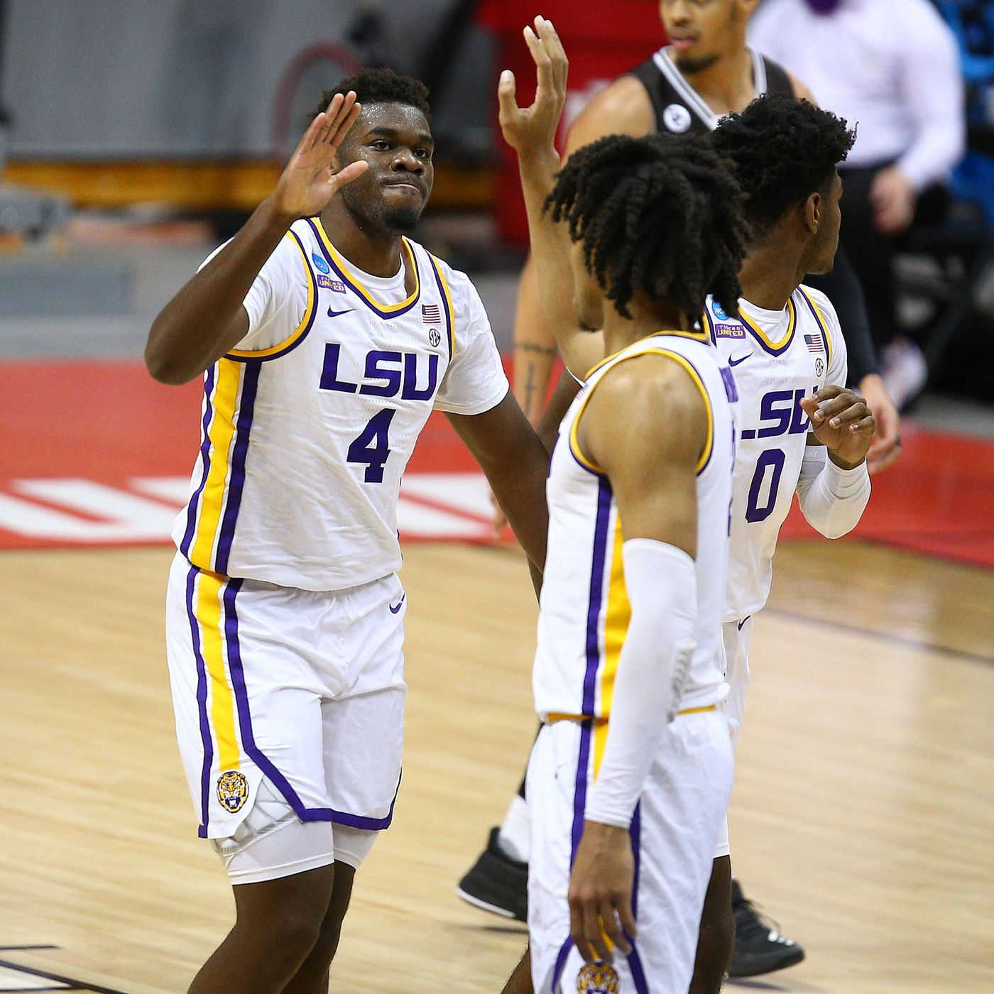 Aundre Hyatt LSU Tigers Basketball Jersey - Gold