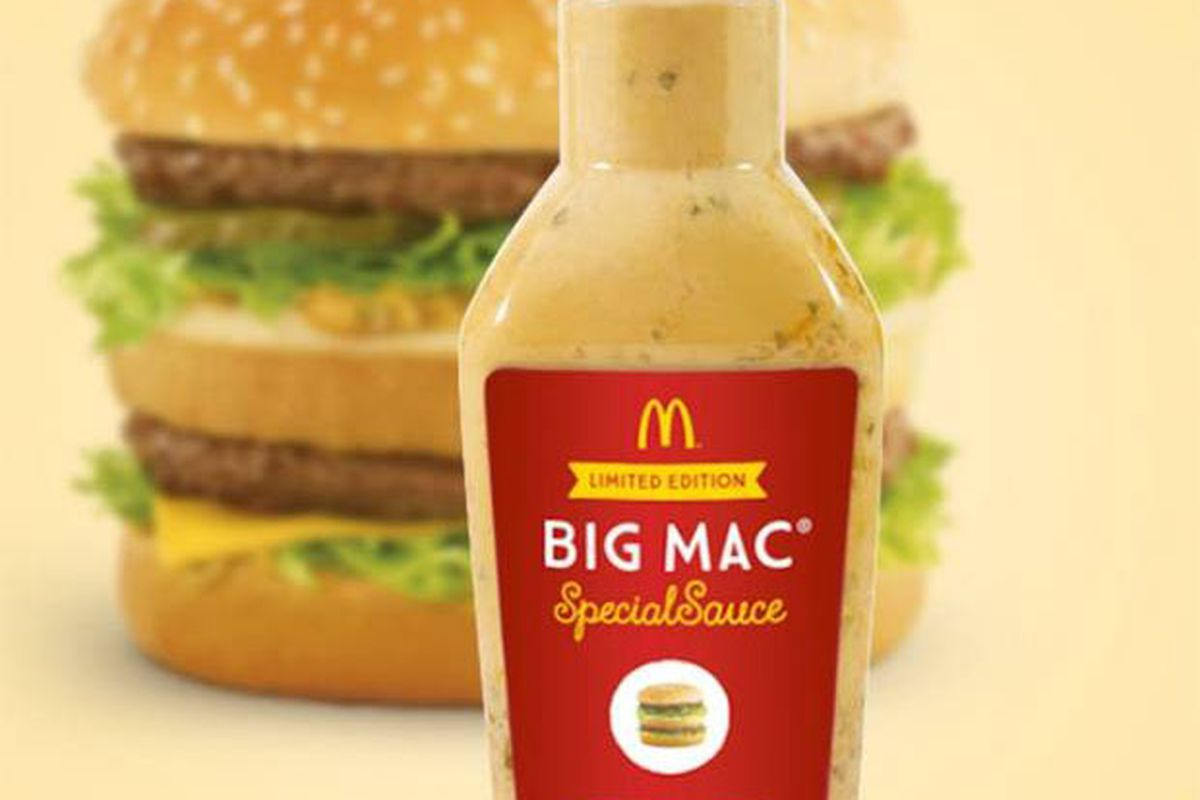 McDonald's Now Selling Its Big Mac Special Sauce for $18,000 a Bottle -  Eater