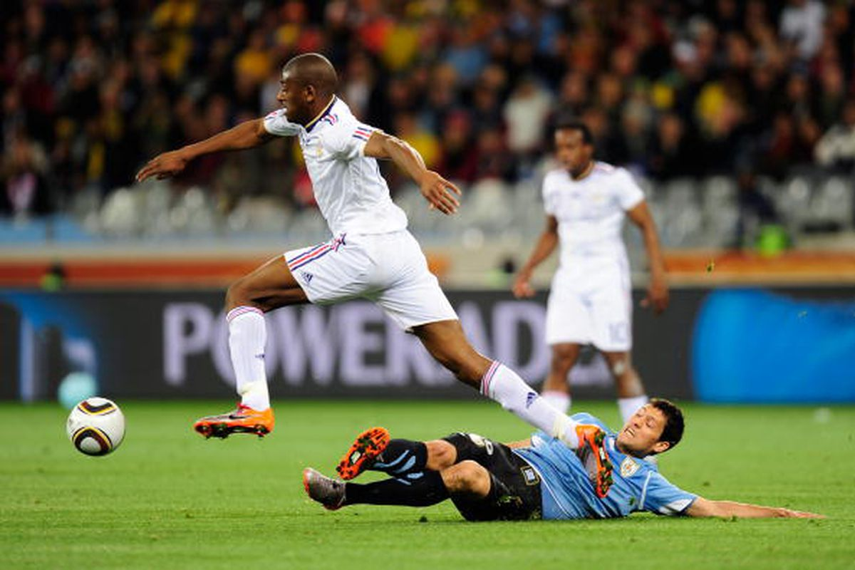 Abou doin' what he do.  (Photo by Jamie McDonald/Getty Images)