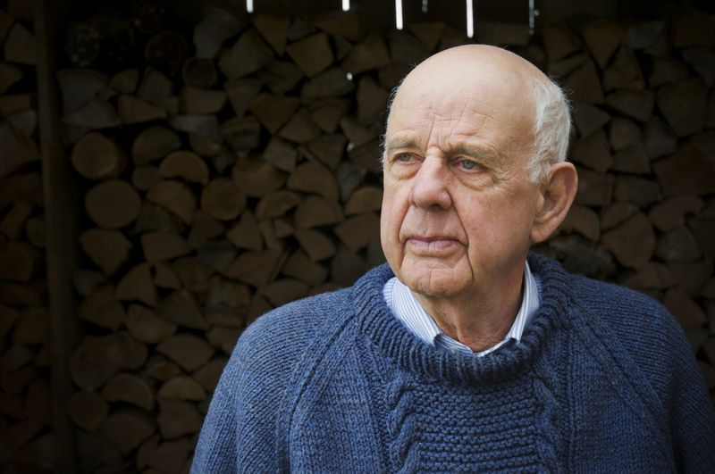 Wendell Berry, the author of more than 40 books and winner of the National Humanities Medal, looks on in this photo on his farm.