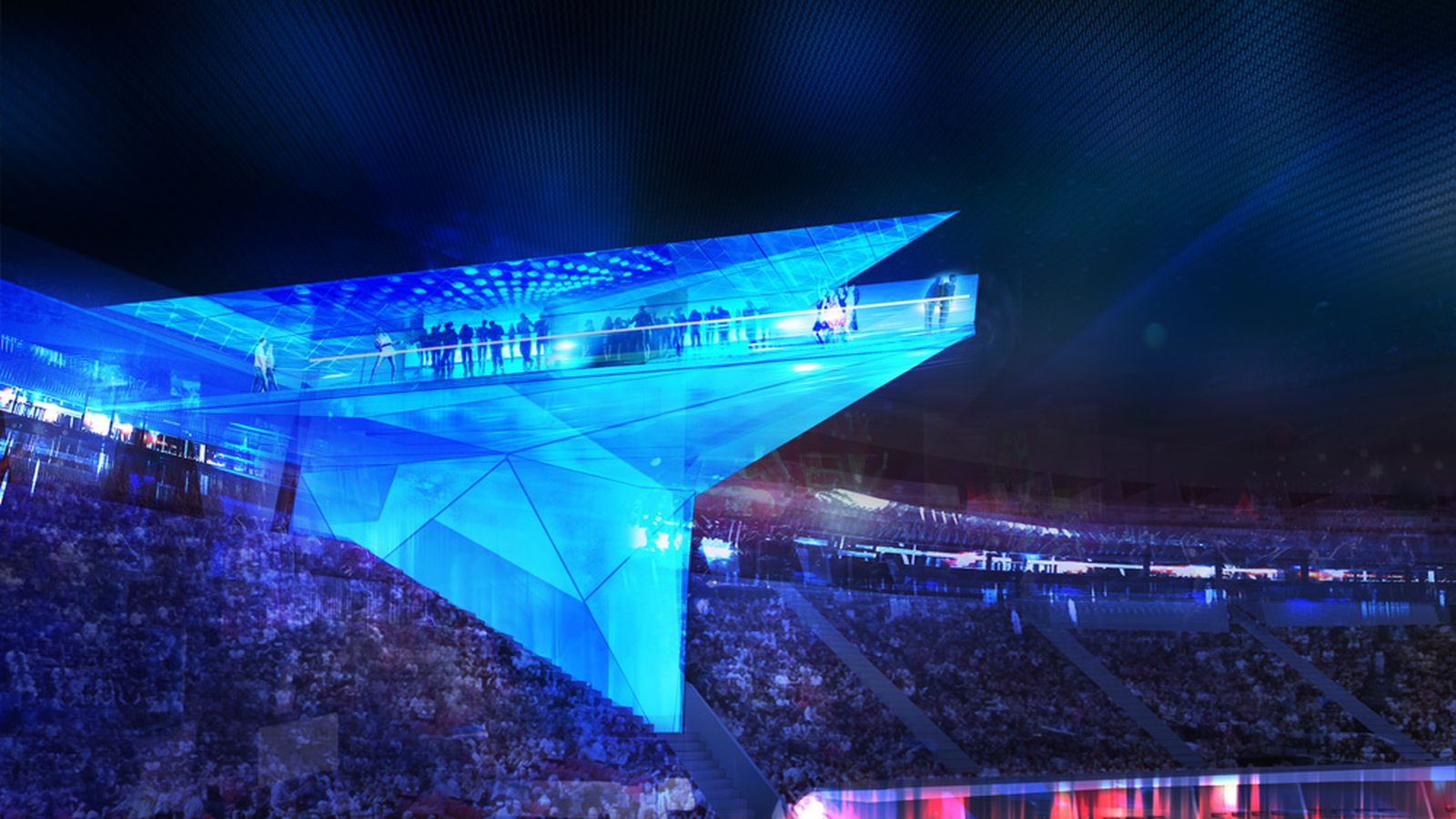 Introducing The Stadium Of The Future Where Technology Is