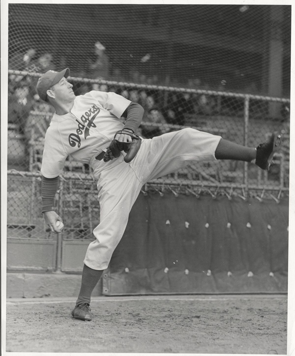 Whitlow Wyatt of the Brooklyn Dodgers