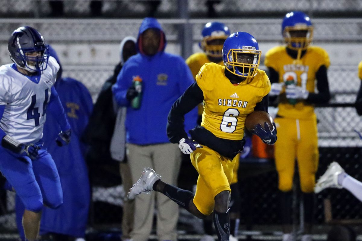 2019 Ihsa Class 6a State Football Playoff Scores And