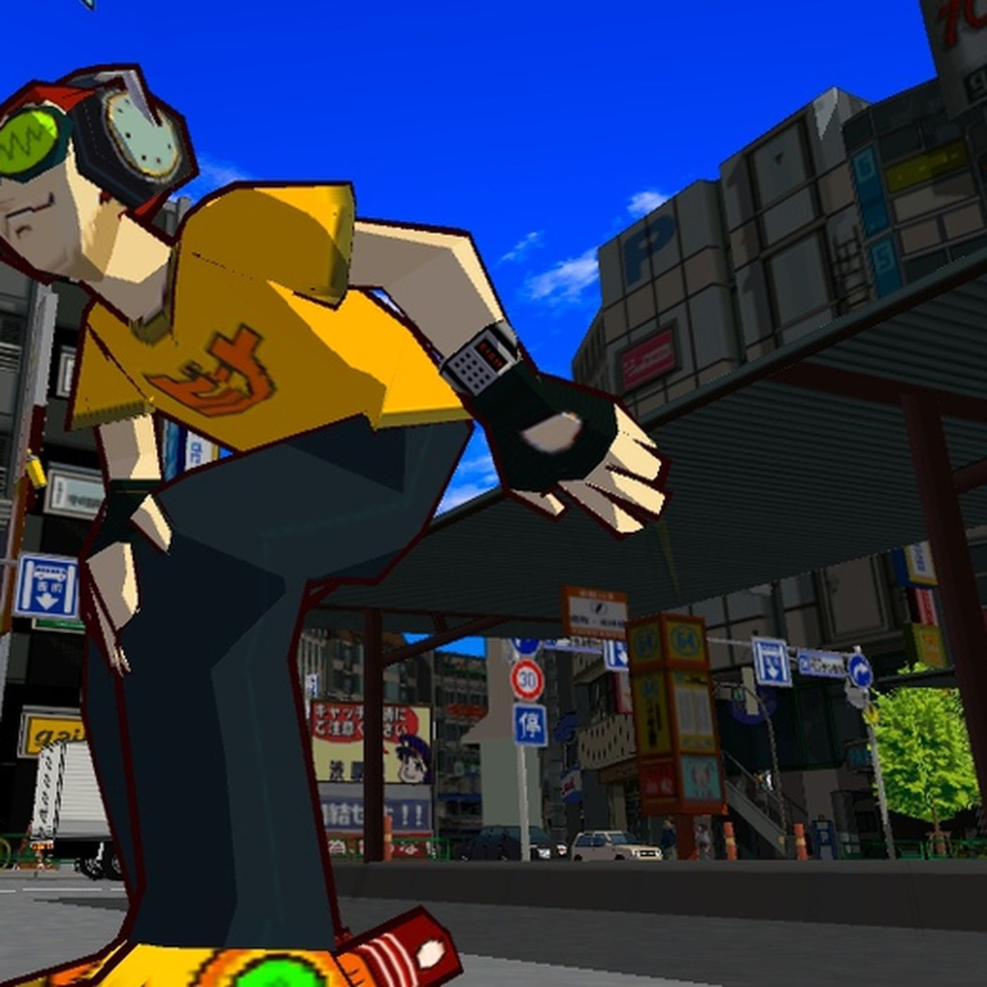 Jet Set Radio HD review: bad reception | Polygon