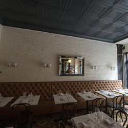 """<a href=""""http://ny.eater.com/archives/2013/04/little_prince_chef_paul_denamiels_soho_french_bistro.php"""">Eater Inside: Little Prince</a>"""