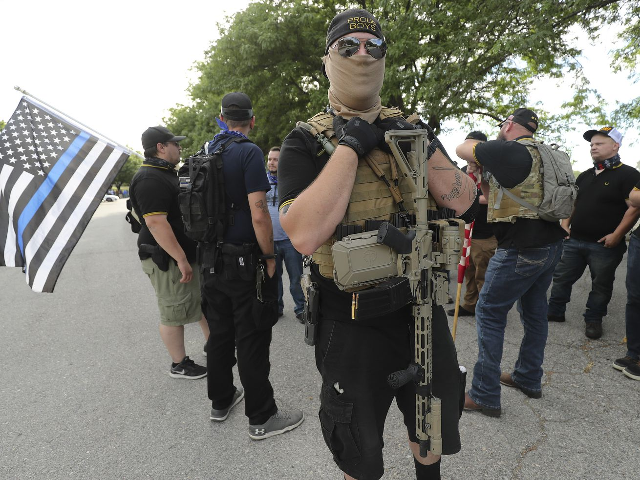 Utah Citizens' Alarm gathers as counter to canceled protest